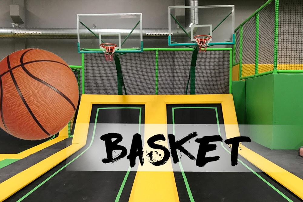 Basket Fun Jump Trampoline park