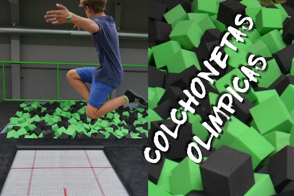 Colchonetas Olímpicas Fun Jump Trampoline park