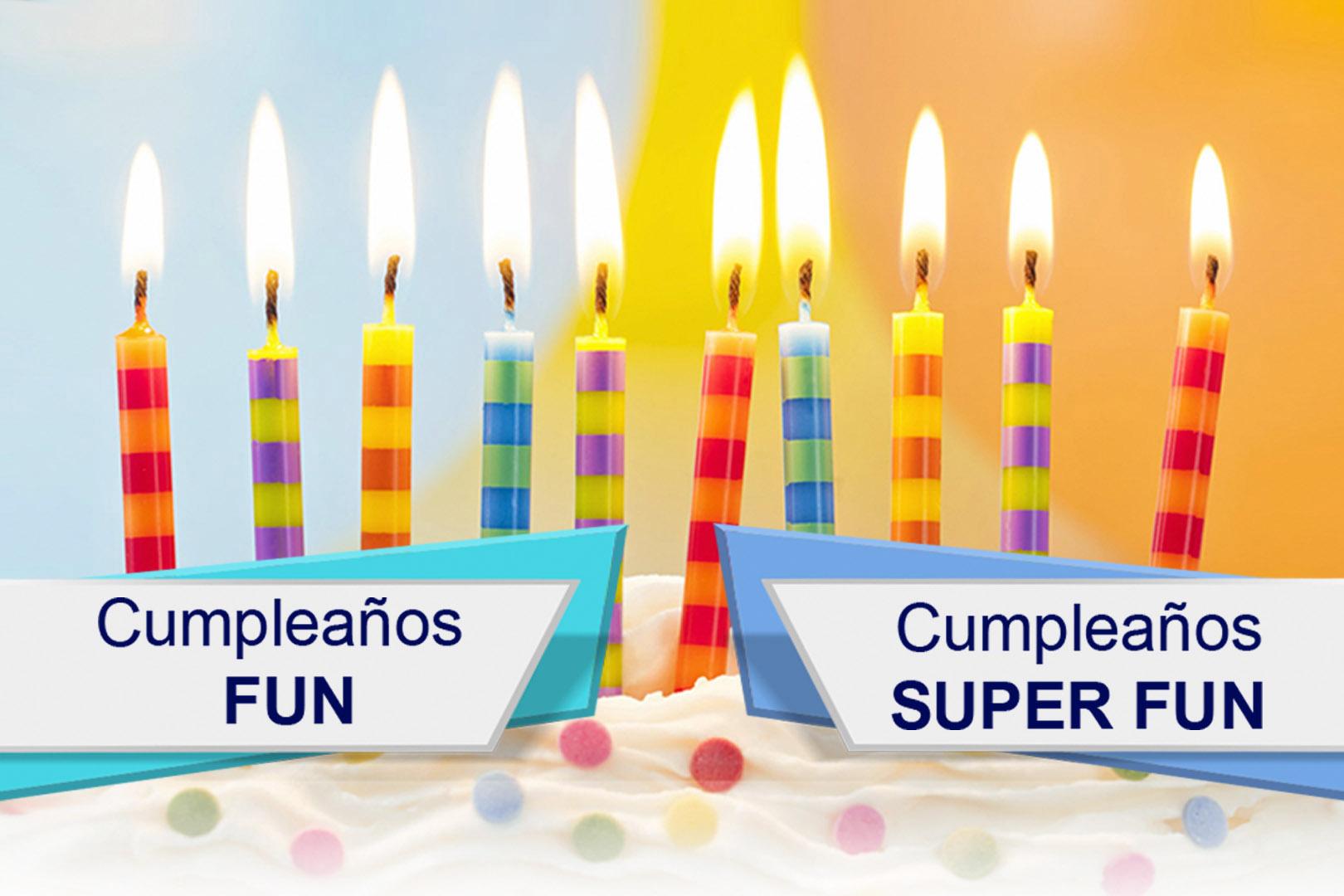 Tarifas -cumpleaños Fun jump trampoline park