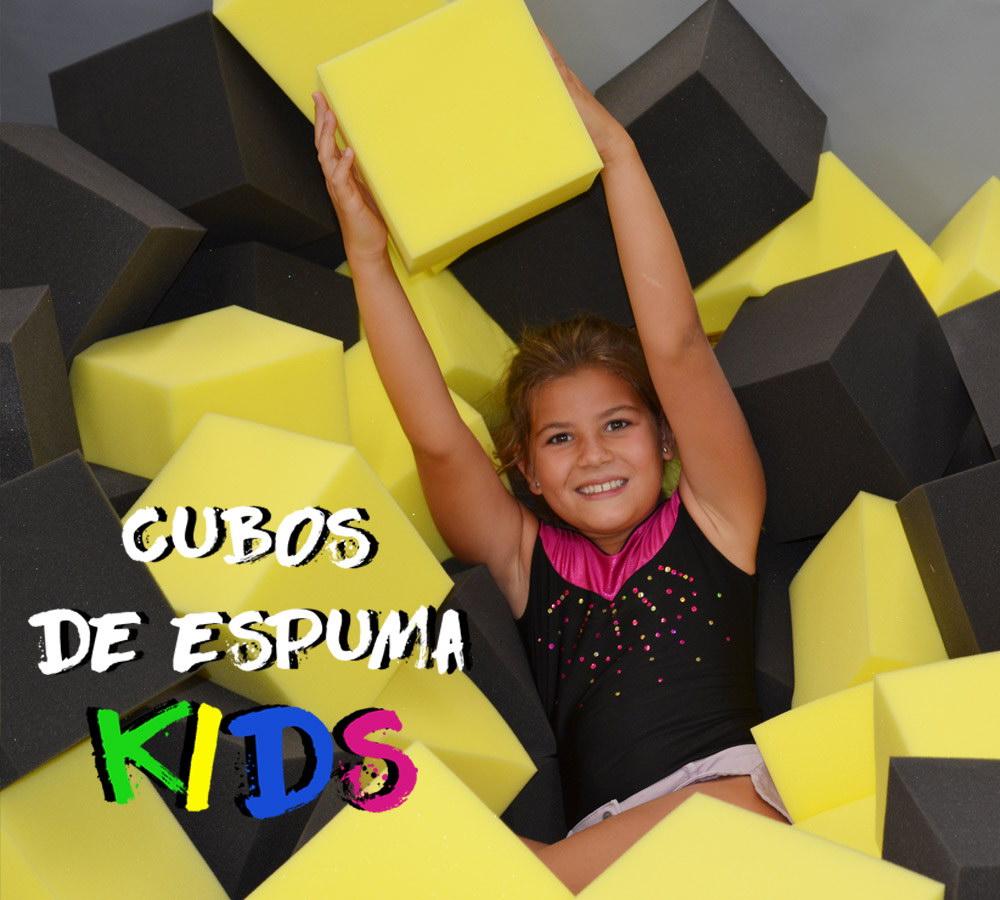 Cubos de Espuma Fun Jump Trampoline park